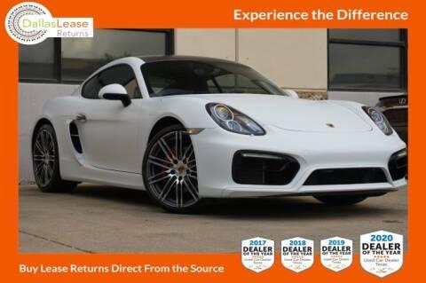 2015 Porsche Cayman for sale at Dallas Auto Finance in Dallas TX