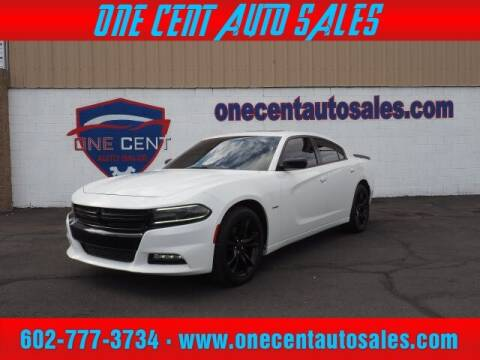 2016 Dodge Charger for sale at One Cent Auto Sales in Glendale AZ
