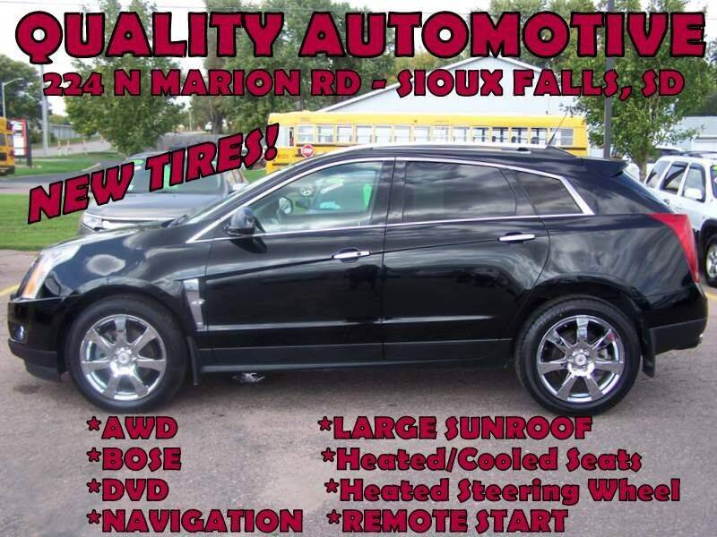 2012 Cadillac SRX for sale at Quality Automotive in Sioux Falls SD