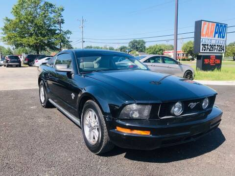 2009 Ford Mustang for sale at Carpro Auto Sales in Chesapeake VA