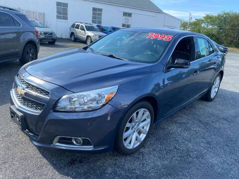 2013 Chevrolet Malibu for sale at MBM Auto Sales and Service - MBM Auto Sales/Lot B in Hyannis MA