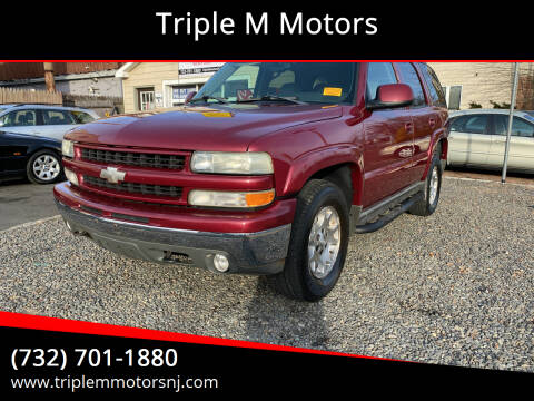 2004 Chevrolet Tahoe for sale at Triple M Motors in Point Pleasant NJ