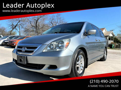 2006 Honda Odyssey for sale at Leader Autoplex in San Antonio TX
