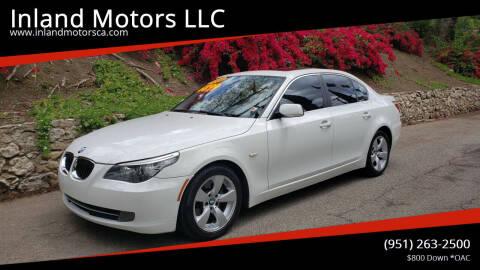 2008 BMW 5 Series for sale at Inland Motors LLC in Riverside CA