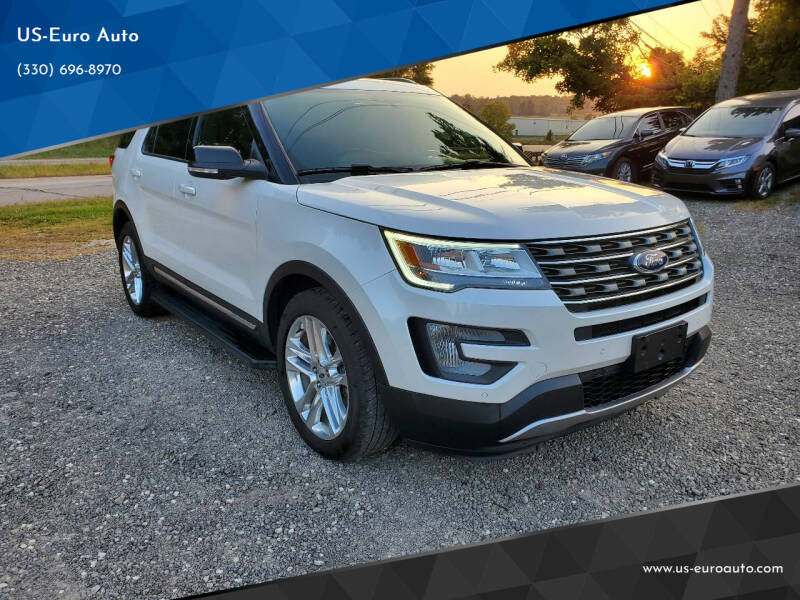 2017 Ford Explorer for sale at US-Euro Auto in Burton OH