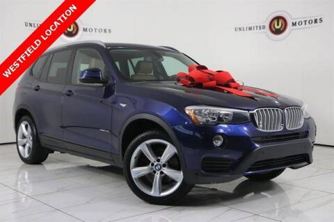 2017 BMW X3 for sale at INDY'S UNLIMITED MOTORS - UNLIMITED MOTORS in Westfield IN