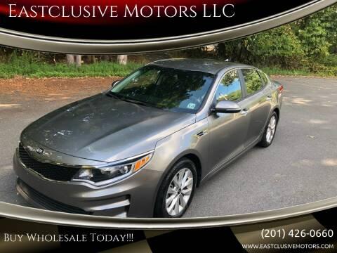 2017 Kia Optima for sale at Eastclusive Motors LLC in Hasbrouck Heights NJ