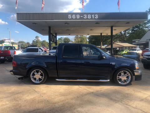 2002 Ford F-150 for sale at BOB SMITH AUTO SALES in Mineola TX
