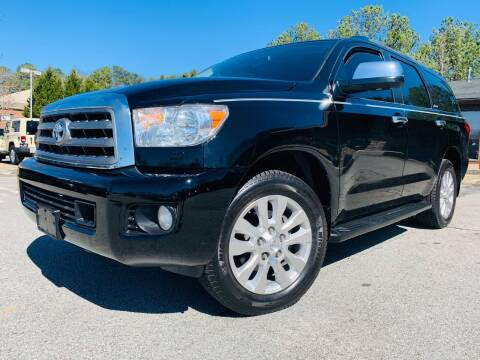 2010 Toyota Sequoia for sale at Classic Luxury Motors in Buford GA