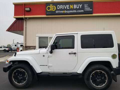 2012 Jeep Wrangler for sale at Drive N Buy, Inc. in Nampa ID