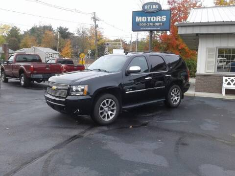 2012 Chevrolet Tahoe for sale at Route 106 Motors in East Bridgewater MA
