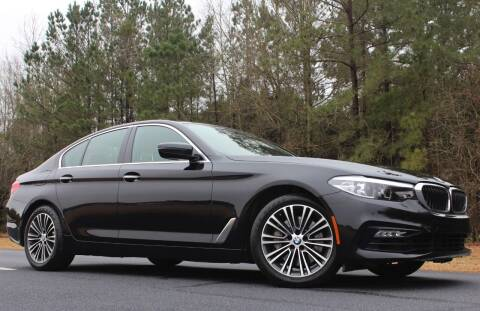 2018 BMW 5 Series for sale at Palmetto Luxury Cars in Florence SC