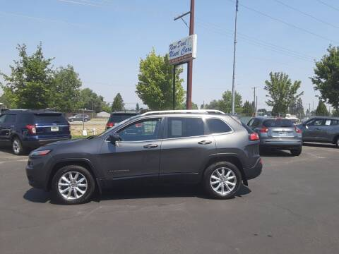 2015 Jeep Cherokee for sale at New Deal Used Cars in Spokane Valley WA
