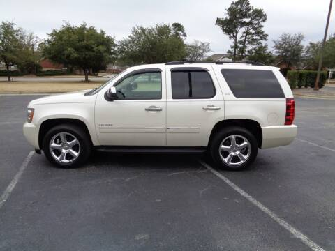 2012 Chevrolet Tahoe for sale at BALKCUM AUTO INC in Wilmington NC