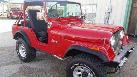 1973 Jeep CJ-5 for sale at Haigler Motors Inc in Tyler TX