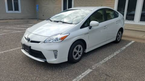 2013 Toyota Prius for sale at Capital Fleet  & Remarketing  Auto Finance in Columbia Heights MN