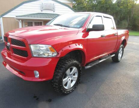2014 RAM Ram Pickup 1500 for sale at Honest Gabe Auto Sales in Carlisle PA