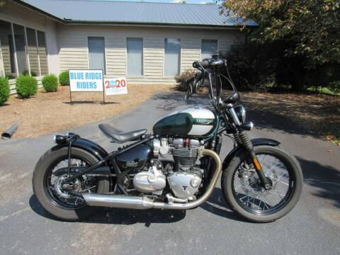 2017 Triumph Bonneville Bobber 1200 for sale at Blue Ridge Riders in Granite Falls NC