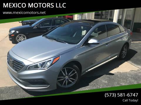 2015 Hyundai Sonata for sale at MEXICO MOTORS LLC in Mexico MO