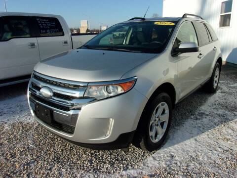 2014 Ford Edge for sale at Marty Hart's Auto Sales in Sturgis MI