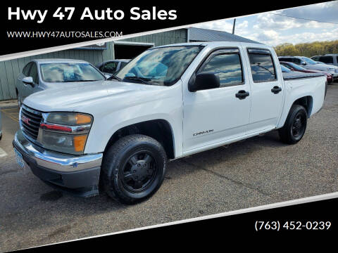 2005 GMC Canyon for sale at Hwy 47 Auto Sales in Saint Francis MN