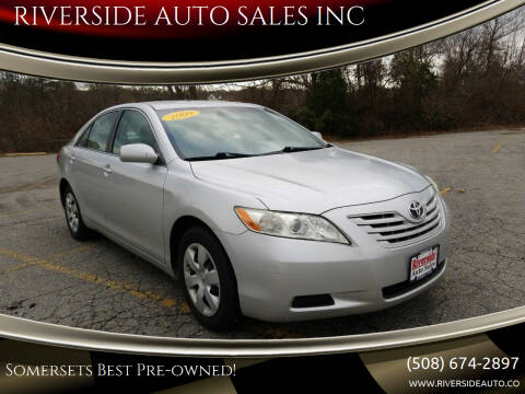 2009 Toyota Camry for sale at RIVERSIDE AUTO SALES INC in Somerset MA