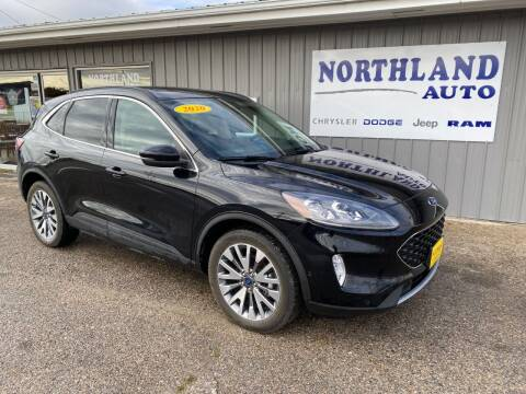 2020 Ford Escape for sale at Northland Auto in Humboldt IA