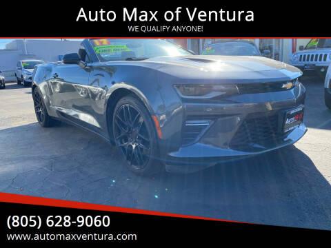 2017 Chevrolet Camaro for sale at Auto Max of Ventura in Ventura CA