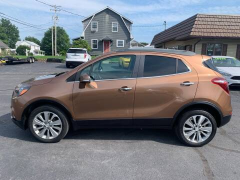 2017 Buick Encore for sale at MAGNUM MOTORS in Reedsville PA