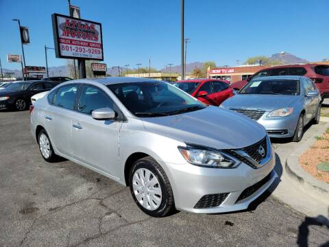 2017 Nissan Sentra for sale at ATLAS MOTORS INC in Salt Lake City UT