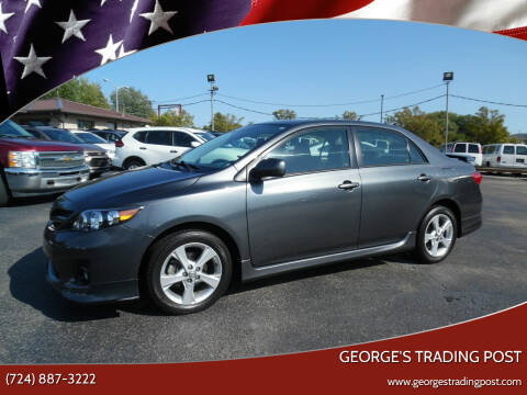 2012 Toyota Corolla for sale at GEORGE'S TRADING POST in Scottdale PA