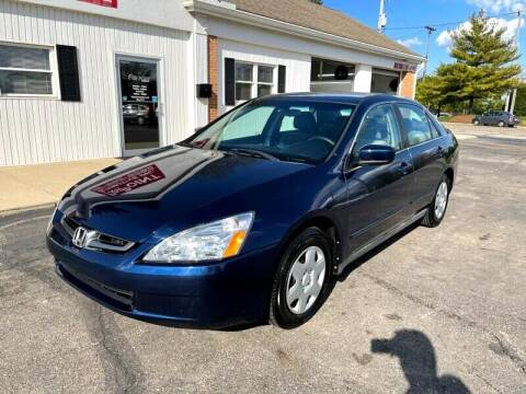 2005 Honda Accord for sale at Jacobs Motors LLC in Bellefontaine OH