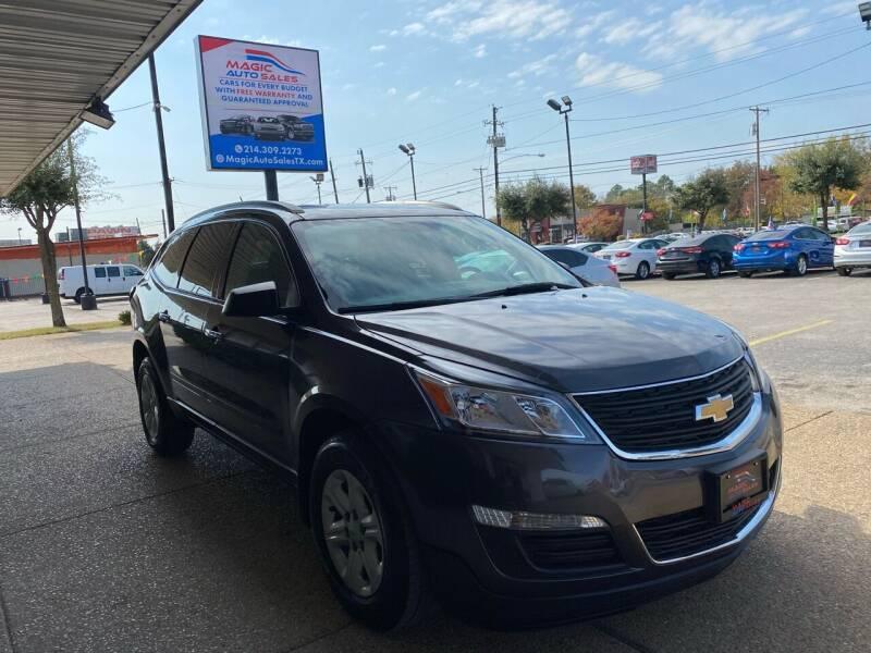 2014 Chevrolet Traverse for sale at Magic Auto Sales in Dallas TX