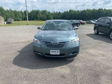 2009 Toyota Camry for sale at DOW'S AUTO SALES in Palmyra ME
