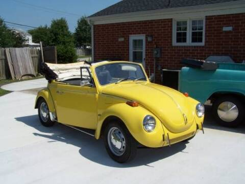 1971 Volkswagen Super Beetle for sale at Haggle Me Classics in Hobart IN