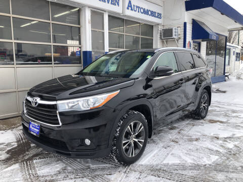 2016 Toyota Highlander for sale at Jack E. Stewart's Northwest Auto Sales, Inc. in Chicago IL