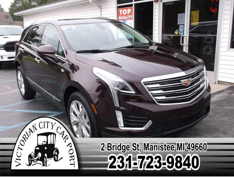 2018 Cadillac XT5 for sale at Victorian City Car Port INC in Manistee MI