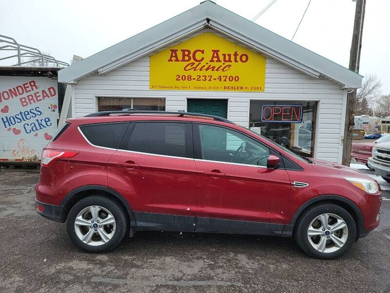 2013 Ford Escape for sale at ABC AUTO CLINIC - Chubbuck in Chubbuck ID