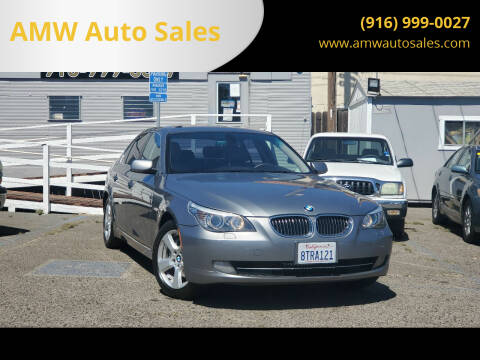 2008 BMW 5 Series for sale at AMW Auto Sales in Sacramento CA