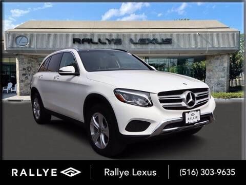 2018 Mercedes-Benz GLC for sale at RALLYE LEXUS in Glen Cove NY