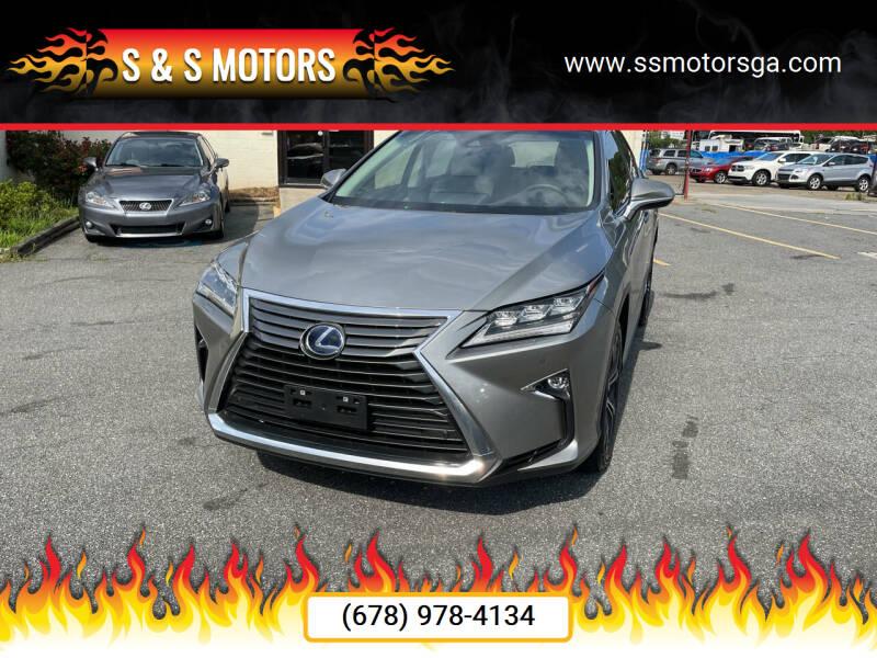 2018 Lexus RX 450h for sale at S & S Motors in Marietta GA