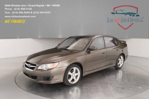 2009 Subaru Legacy for sale at Elvis Auto Sales LLC in Grand Rapids MI