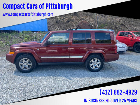 2008 Jeep Commander for sale at Compact Cars of Pittsburgh in Pittsburgh PA
