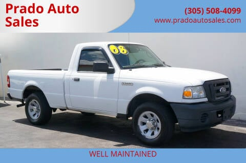 2008 Ford Ranger for sale at Prado Auto Sales in Miami FL