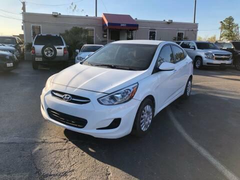 2015 Hyundai Accent for sale at Saipan Auto Sales in Houston TX