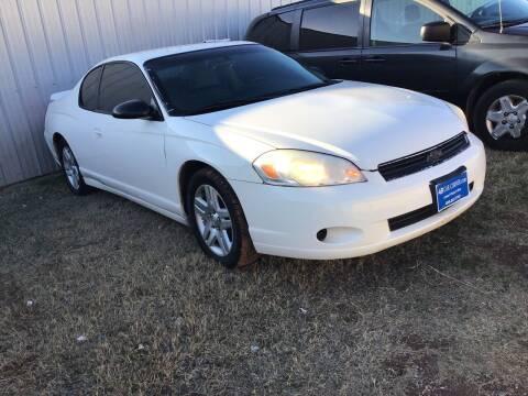 2007 Chevrolet Monte Carlo for sale at 4 B CAR CORNER in Anadarko OK