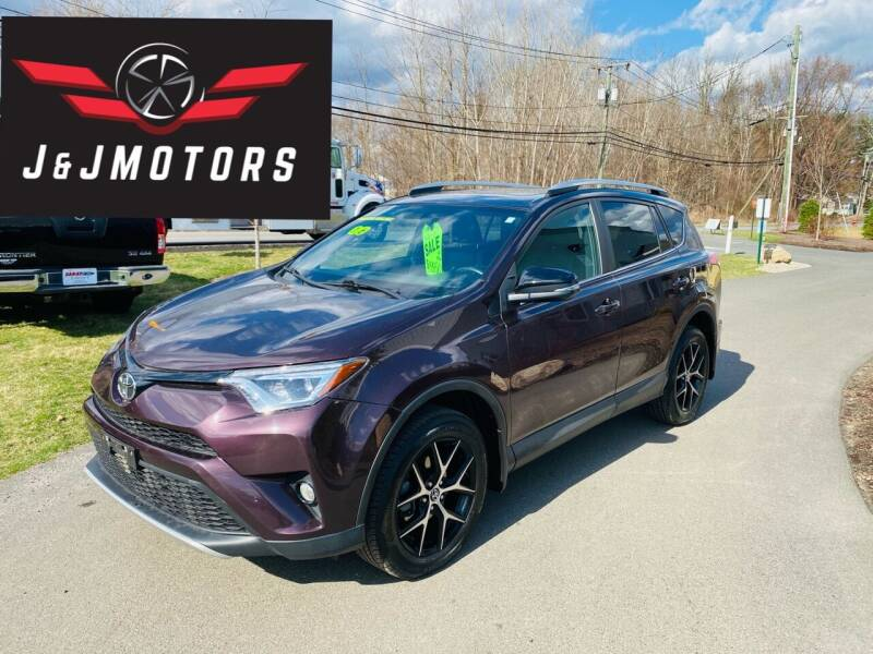 2016 Toyota RAV4 for sale at J & J MOTORS in New Milford CT