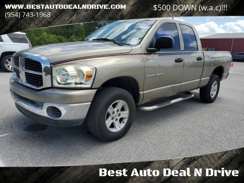 2007 Dodge Ram Pickup 1500 for sale at Best Auto Deal N Drive in Hollywood FL