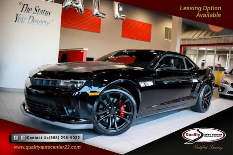 2015 Chevrolet Camaro for sale at Quality Auto Center in Springfield NJ