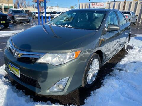 2012 Toyota Camry for sale at New Wave Auto Brokers & Sales in Denver CO